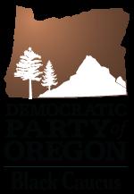 Democratic Party of Oregon Black Caucus Logo