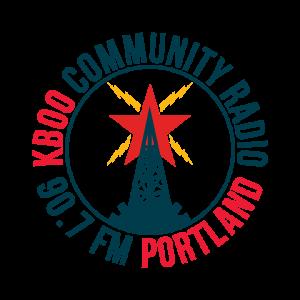 KBOO Community Radio logo